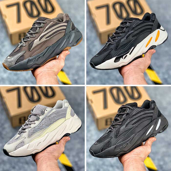 Mens 700 Geode Sneakers for Men's 700boost Male Kanye West Trainers Women Sports Shoes Womens Kanyewest Dad Running Shoe Female Sneaker Man
