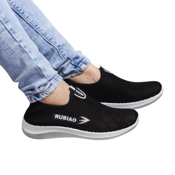 fashion Women's Flat Sport Shoes Soft Bottom Casual Breathable Ladies Lazy Shoes Running Breathable Sneakers chaussures femme