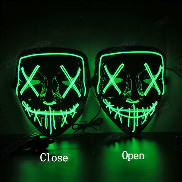 Fluorescente Verde-vicino Bocca