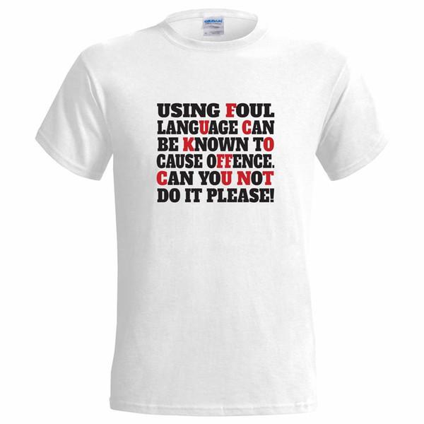 F Bomb Curse Word Swear Funny Men/'s Adult Tee Shirt 156