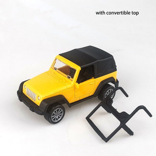 Jeep Wrangler Yellow