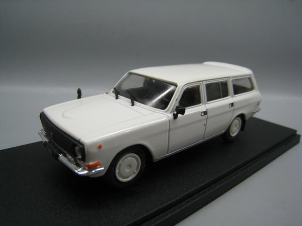 1/43 Ehemaliger Sowjetunion-Russe GAZ 2412 Wolga-Legierung Fahrzeugmodell Sammlungsmodell