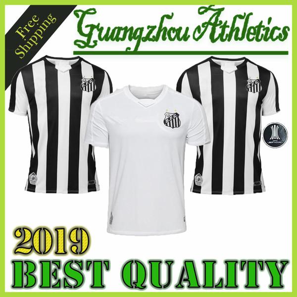 best selling 2019 Santos FC soccer jersey 19 20 Santos home away Gabriel RODRYGO DODO RENATO SASHA football shirts