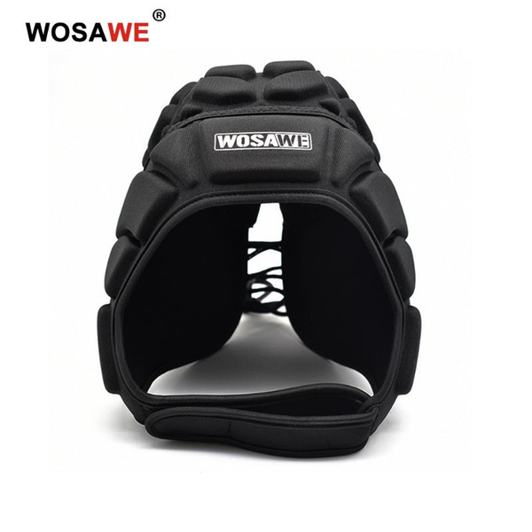 WOSAWE Motorcycle Thick Sponge EVA Helmet Baseball Goalkeeper Football Soccer Rugby Head Protection Cap Skateboard Hat Guards