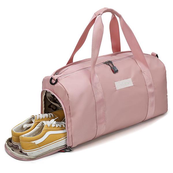 Borsa sportiva da palestra Donna Uomo Fitness Borse da yoga Outdoor impermeabile Nylon da viaggio Training Ultralight Duffle Shoes Piccolo Sac Sport