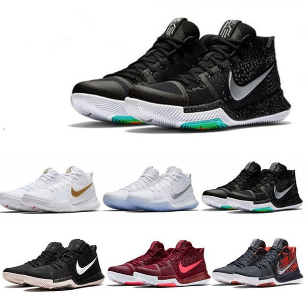 huge selection of 352a9 900d1 2019 Top Quality Kyrie #3 Bruce Lee Shoes Classic Basketball Shoes Mamba  Mentality Signature Shoes Outdoor Sports Sneakers From Bookingjer, $48.4 |  ...