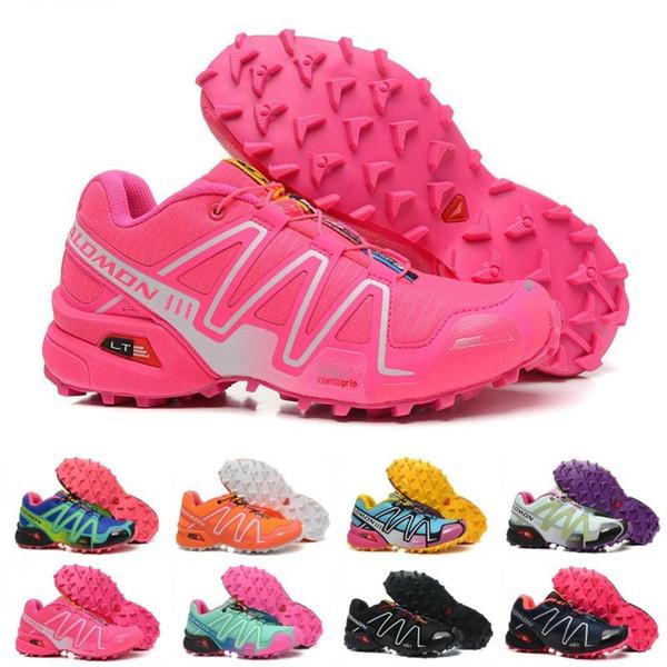 Salomon 2019 Zapatos de mujer Peedcross 3 Trail Hombres de mejor calidad Zapatos para correr al aire libre Un deporte para correr Zapatillas de deporte de moda Caminar al aire libre