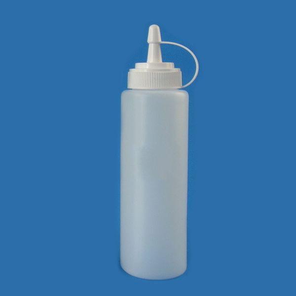 200 мл Джем банку соус бутылки кухонные принадлежности горячие продажа портативный сопла пластиковые бутылки здоровой воды 0 7xy U U