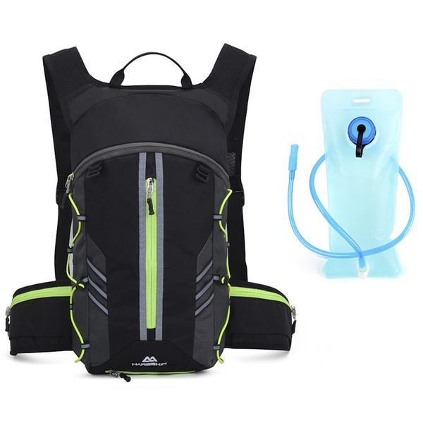 Verde con bolsa de agua