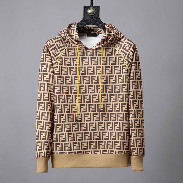 2019 Inverno Europa Francia Parigi Moda americana di lusso Vintage Foro rotto Felpa Casual Donna Uomo con cappuccio Felpe Streetwear Top Design