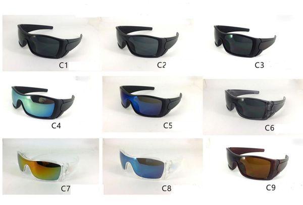 Free Shipping 9 Colors New Fashion Styles for Men's Sunglasses Women's Sports Sunglass Designer Glasses MOQ 20 pairs