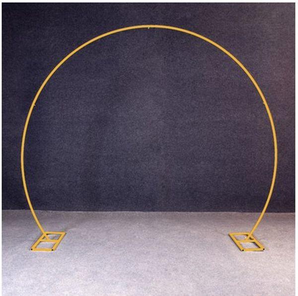 Forma redonda de oro