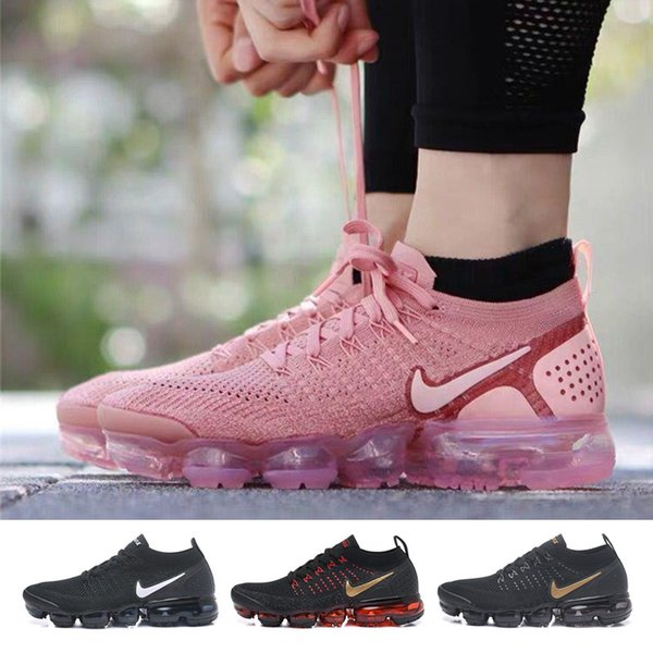 top popular 2019 Vapors Wholesale Sneakers Shoes Men Black White Red Trainers Tennis 2018 2.0 Shoe Women Designers Sports Athletic Maxes Shoes 36 2020