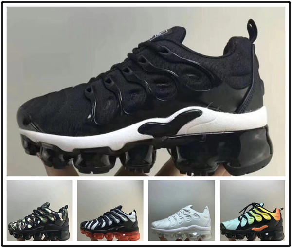 Acheter Nike TN Plus Vapormax Air Max Airmax Nouveau Enfants Plus Tn Enfants Parent Enfant Casual Chaussures Pour Bébé Garçon Fille Styliste De Mode