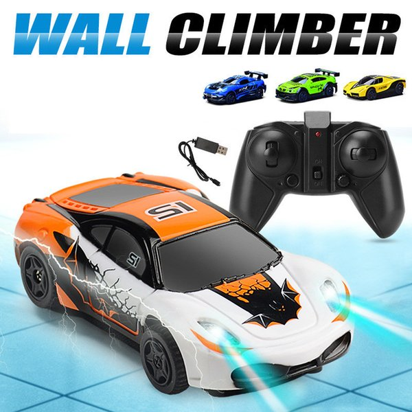 RC Wall Climbing Car Remote Control Gravity Defying Mini Ceiling Racing Electric Toys Climber for children Boys Gilrs Kids Gift