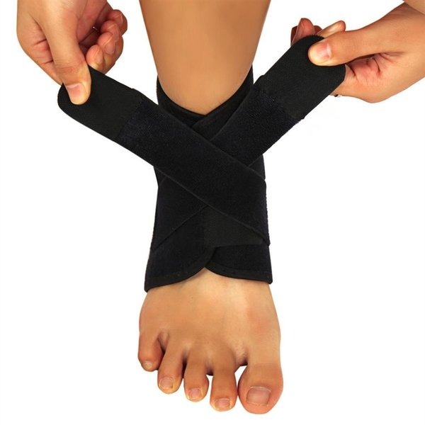 elastic strap ankle support brace badminton basketball football taekwondo fitness heel protector gym equipment #70146