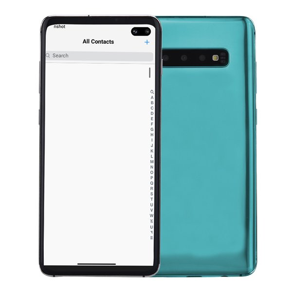 3g wcdma goophone 10 v3 1gb 4gb 32gb android 9 0 6 4 quot punch hole full creen 1440 720 hd in di play fingerprint face id martphone
