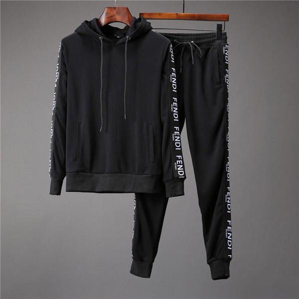 Ücretsiz kargo 2019 Hip hop yeni Sıcak satış Erkek polo Hoodies ve Tişörtü sonbahar kış rahat bir başlık spor ceket ile erkekler hoodies M-3XL