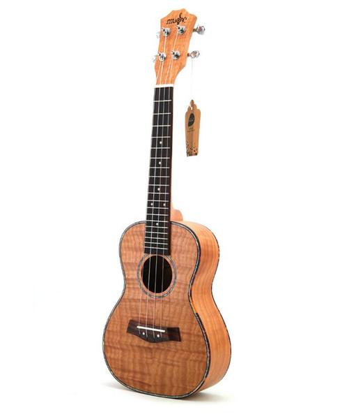 бесплатная доставка специальный 23-дюймовый укулеле укулеле маленькая гитара Тайгер зерна Oguman начинающий музыкальный инструмент