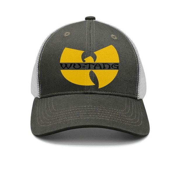 Wu Tang Clan logo music army-green mens and women trucker cap ball design fitted baseball hats