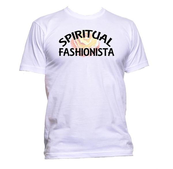 Acheter T Shirt Spirituel Fashionista Hommes Femmes Unisexe Mode Slogan Comédie Cool Cadeau Classique Qualité Haut De 1624 Du Closecup Dhgatecom
