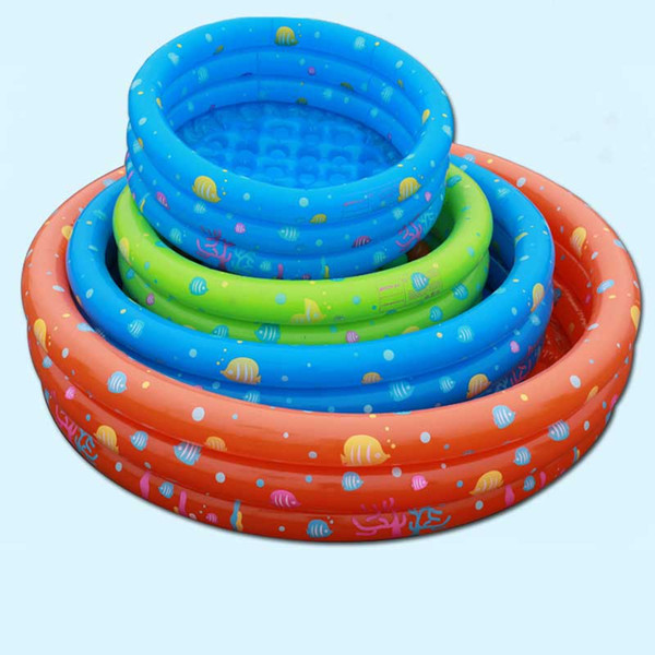 Intime Inflatable Kiddie Pool Outdoor Swimming Pool Bathing Tub Outdoor Water Sports Garden Ball Playing 80/100/130/150cm