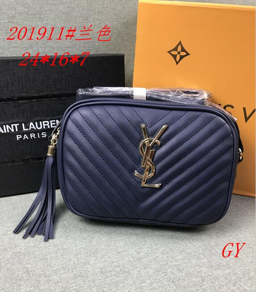 Women's handbag classic small series of fashion hot mom Lady chain bag elegant bulk corrugated woman Leather Shoulder purse handbags bag B74