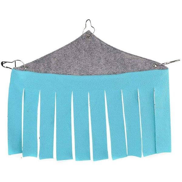 Pet Tent Small Hideout Hideaway Hammock Hanging Bed Tassel Corner Nest For Hedgehog Guinea Pig Hamster Ferret Chinchilla Rat S