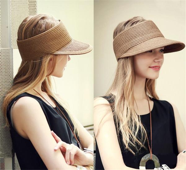 New Summer Fashion Visors Women Colorful Caps Sun Hats Girls Woman Sun Caps Cloth Beach Hats