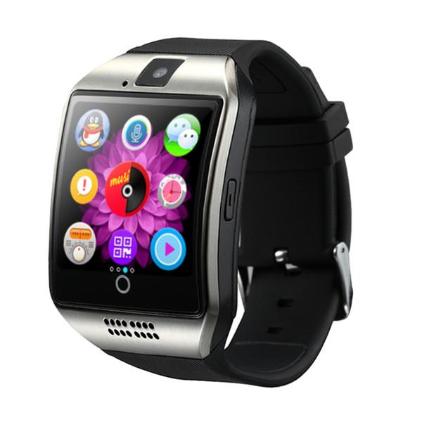 Q18 Smart Watch Bluetooth Smartwatches für Android-Mobiltelefone unterstützen die SIM-Karten-Kamera