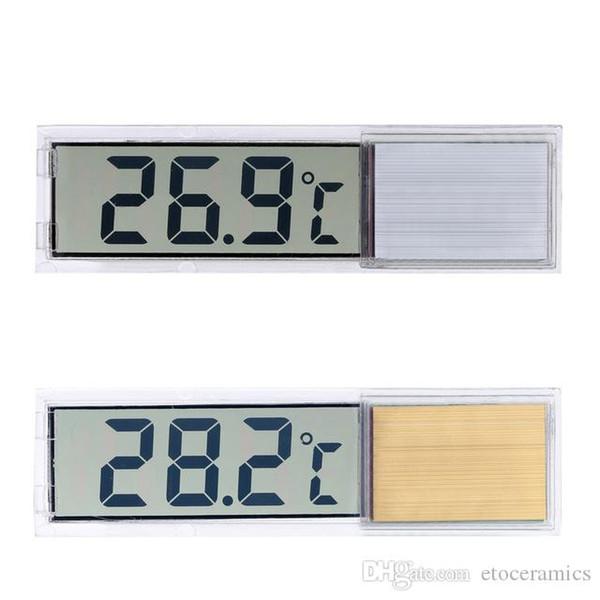 Наклейка Pattern прозрачный Fish Tank Аквариум ЖК-цифровой термометр измеритель температуры воды терморезистор датчик