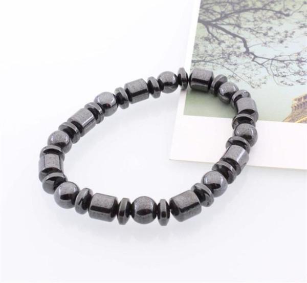 Gesundheitswesen armband anti müdigkeit armreif magnet elastische kraft perlen party kleine geschenke schwarz tragbare flexible mma1841