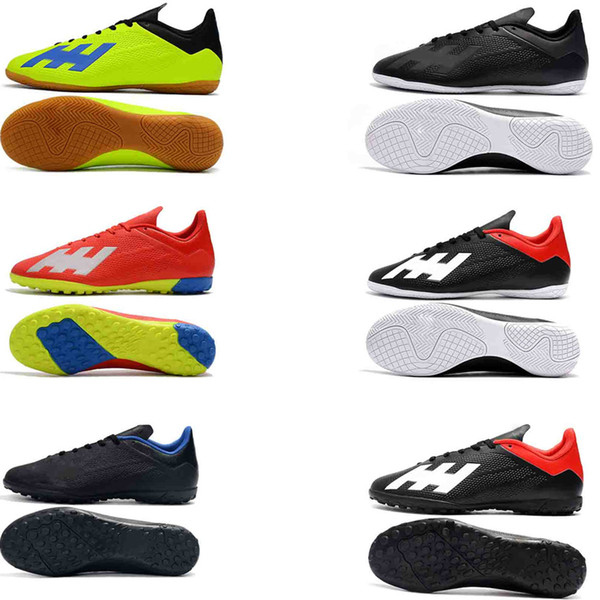 watch d6e82 9ef9b 2019 Original New Football Boots X Tango 18.4 TF IC Soccer Shoes Indoor IC  Soccer Cleats Turf Trainers Football Shoes High Quality Cheap Boots From ...