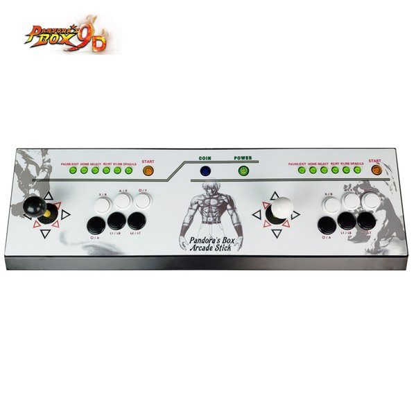 The Family Professional classic design Multi game consoles,multi games 2222 in 1 Pandora's Box 9D Household game machine