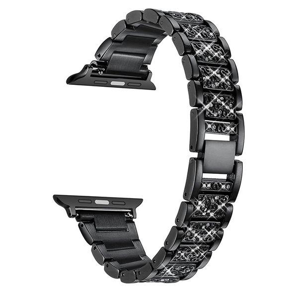 Ремешок для часов из сплава металла с ремешком для часов с бриллиантами и браслетом-пряжкой