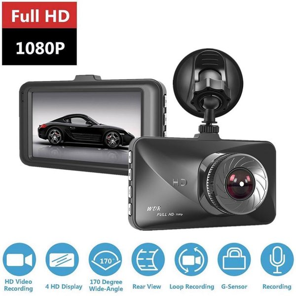 T679 HD Gece Görüş Mini Araç Kaydedici 1080P Döngü Kayıt DVR Araç Veri Kaydedici Dijital Video Kamera