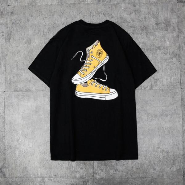 65373a06a1 Acquista 2019 Estate Uomo Donna Coppia Designer Top Tees Manica Corta  Pullover Mens Designer Magliette Fashion Casual Brand T Shirt A $19.29 Dal  ...