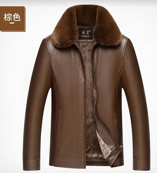 2019 más nuevo caliente nueva solapa con cremallera de cuero de los hombres de invierno casual más terciopelo marca moda diseñador de lujo para hombre diseñador chaquetas
