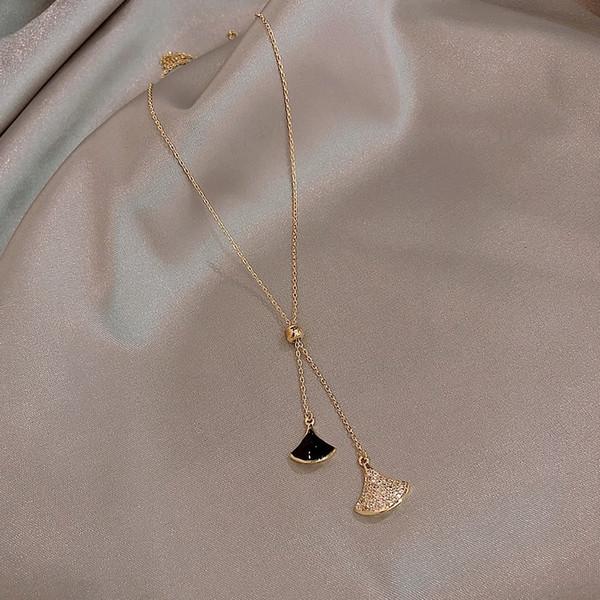 Черно-веерообразные Регулируемое ожерелье