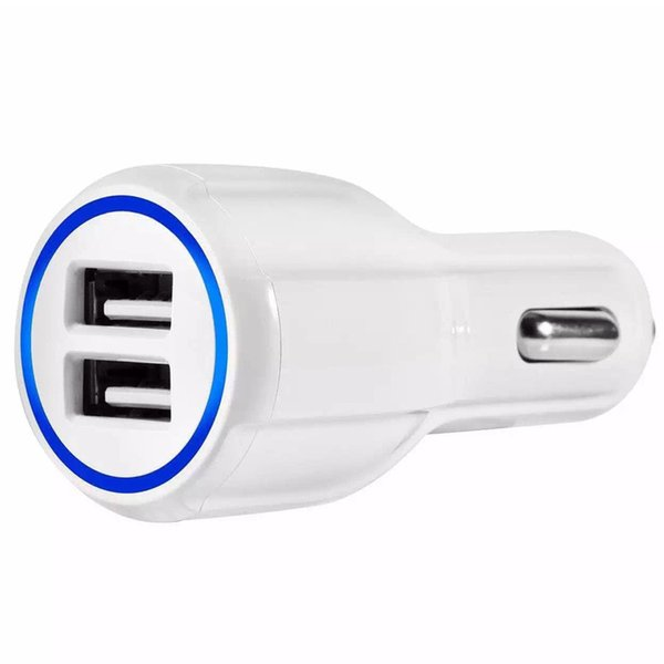 QC 3.0 Car Charger Dual USB Port 3.1A Fast Charging 5V 9V 12V Qualcomm Adaptive Quick Charge Adapter for Samsung S8 Iphone 7 8 X XS HUAWEI