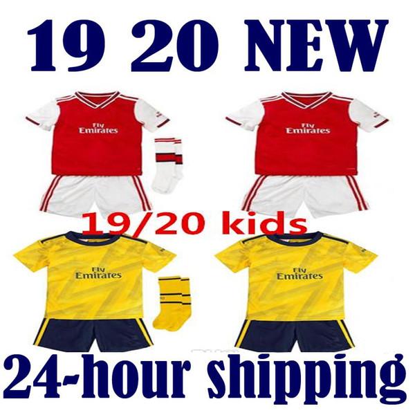 Arsenal  gunman child  kid kit   2019/20 gunners crianças kits camisas de futebol camisa de futebol 2019 2020 Camiseta maillot de foot