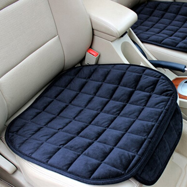 Seat Covers Protector Mat Auto Front Cushion Single Plush Fit Most Vehicles Back Seat Covers Keep Warm Car Seat Cover