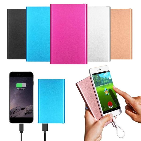 Power Bank 4000mAh 18650 External Battery Fast charge Dual USB Powerbank Portable Mobile phone Charger