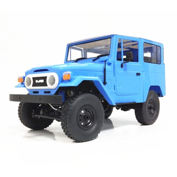 WPL C34K 1:16 Kit 2.4G 4WD Toy Durable Kids Transmitter Charger Truck Climbing Wireless Four-Wheel Drive RC Car Boys