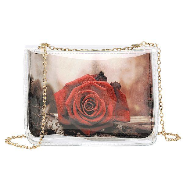 New Elegant Shoulder Bag Women Wild Simple Messenger Bag For Girls Fashion Solid Color Chain Shoulder Mobile Phone K627