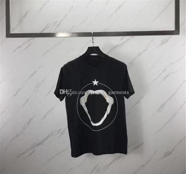 Luxury Designer T-shirt Vêtements pour hommes animaux Shark 3D Imprimer Femmes Hommes Casual manches courtes S-XL