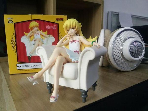 Nisemonogatari Shinobu Oshino Sofa Édition Anime Figure Set CHN Ver.