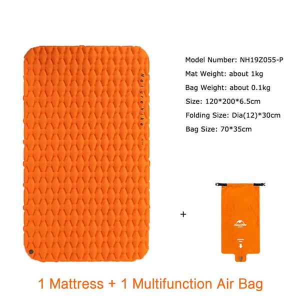 Orange Mat w Air Bag
