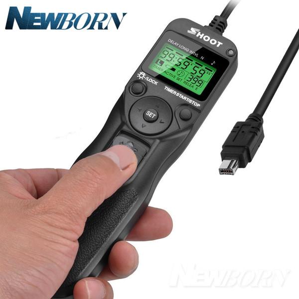 Cable de control remoto del temporizador de disparo del obturador del cable de control para Nikon D750 D600 D610 D7200 D7100 D7000 D90 D5000 D5300 D5100 D5200