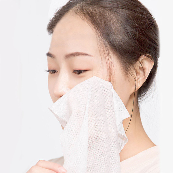 Máscara Maquillaje no tejido Tejido de limpieza facial Toallitas desechables expandibles Toalla comprimida Mini deportes al aire libre Viaje portátil